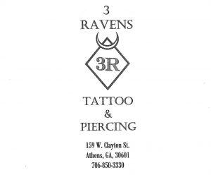Three Ravens Tattoo